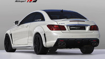 Mercedes E-Class coupe by Expression Motorsport - 5.7.2011