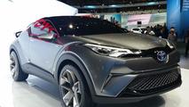 Toyota C-HR concept in Frankfurt 2015