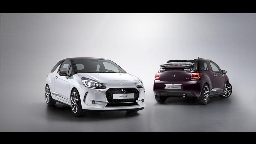 2016 DS 3 & DS 3 Cabrio facelift unveiled
