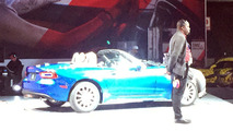 Fiat 124 Spider photogrpahed ahead of imminent debut