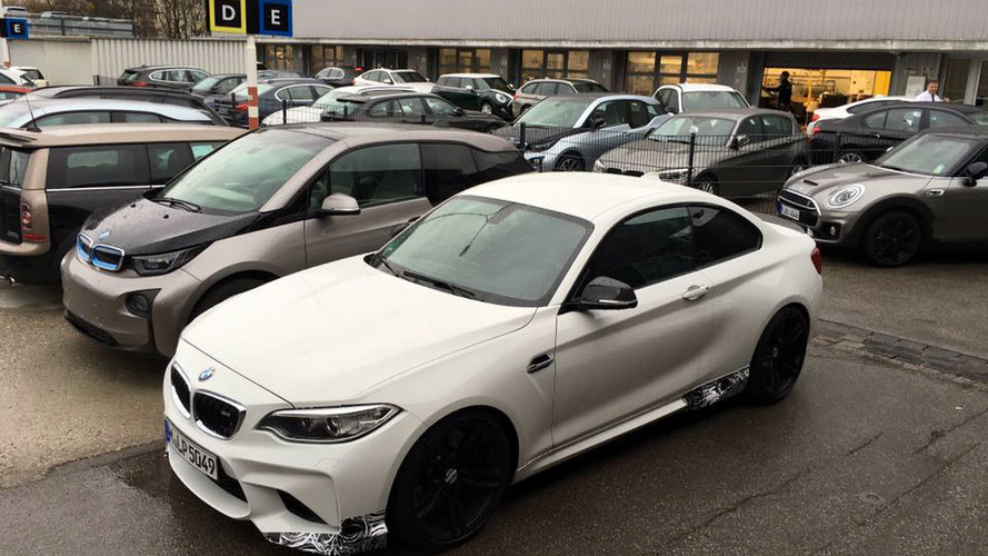 BMW M2 spied hiding M Performance goodies