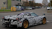 Mysterious Pagani Huayra mule spotted, could be the Nurburgring Edition