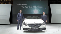 Mercedes S 65 AMG Coupe live in Moscow