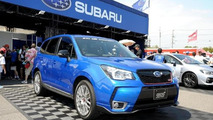 2014 Subaru Forester gains STI goodies in Japan