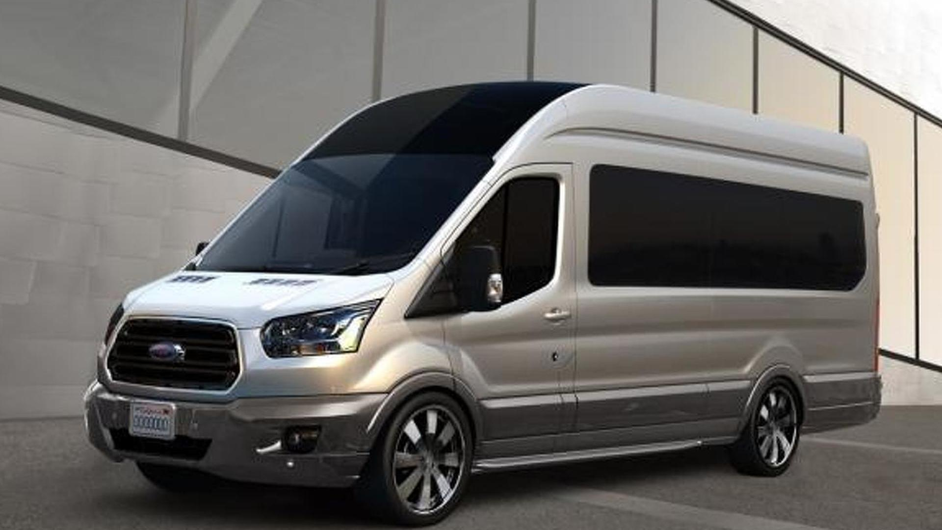 Ford previews five customized Transits for SEMA