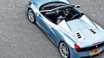 Ferrari 458 Spider restyled by A. Kahn Design