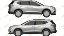 Next-gen Nissan X-Trail leaked patent photo