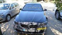 2014 BMW 5-Series facelift spy photo