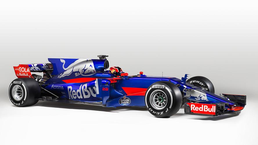 Toro Rosso reveals new-look STR12 2017 F1 car