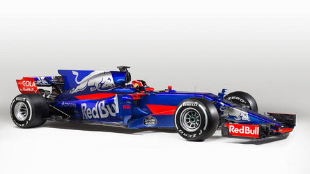 Toro Rosso reveals new-look STR12 2017 F1 car