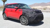 2017 Kia Soul spied testing in Death Valley