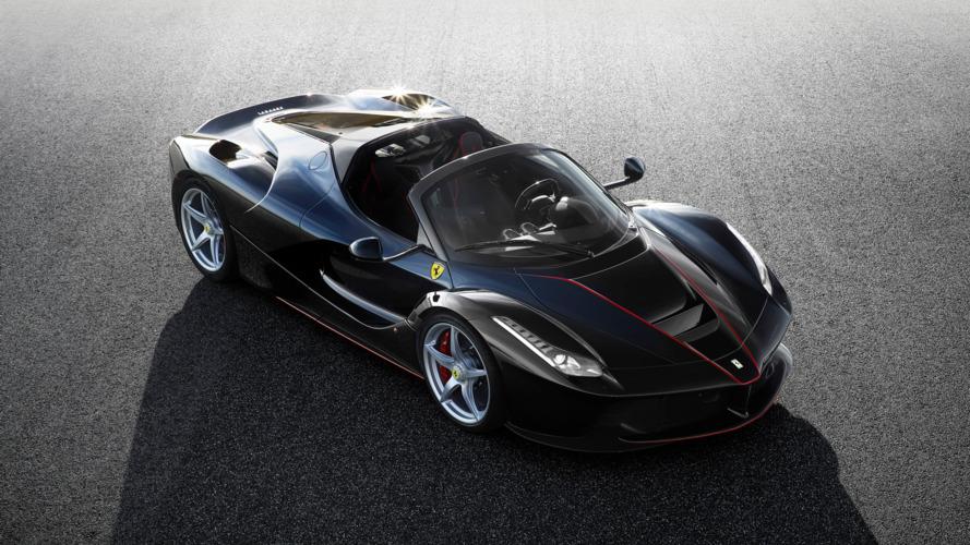 Ferrari reveals first photos of LaFerrari Spider