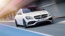 Mercedes CLA & CLA Shooting Brake facelift unveiled