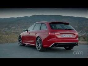2013 Audi RS 4 Avant Driving Scenes