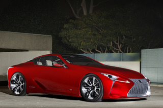 Lexus LF-LC Could See Life as 600HP Mercedes Fighter