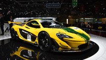 McLaren P1 GTR shows its lighter body in Geneva