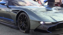 Aston Martin Vulcan roars 800 bhp 7.0 V12 naturally aspirated engine in front of the camera [video]