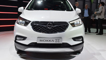 Opel Mokka X shows wing motif in Geneva