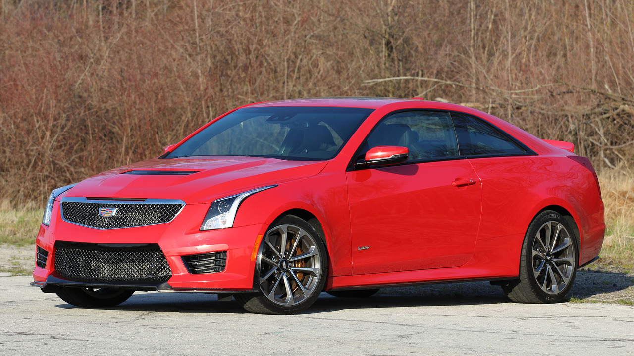 2016 cadillac ats v coupe review. Black Bedroom Furniture Sets. Home Design Ideas