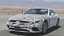 2016 Mercedes SL spied wearing significantly less disguise