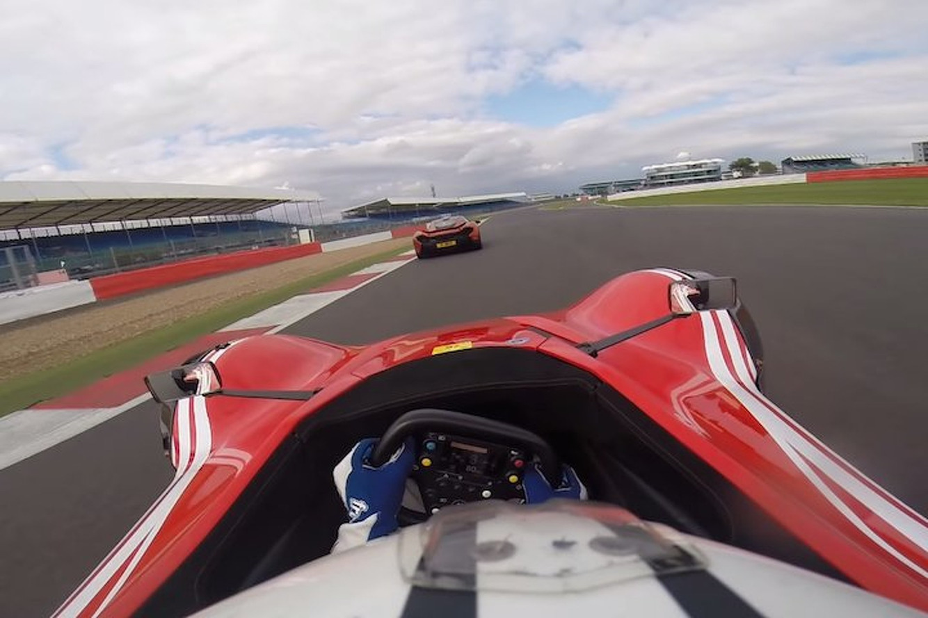 BAC Mono Battles McLaren P1 for Track Superiority [Video]