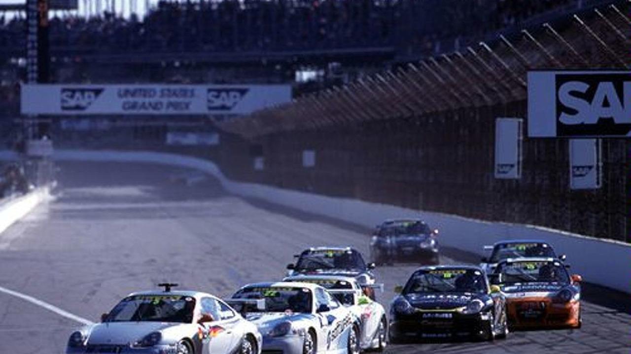 Porsche Supercup at Indy