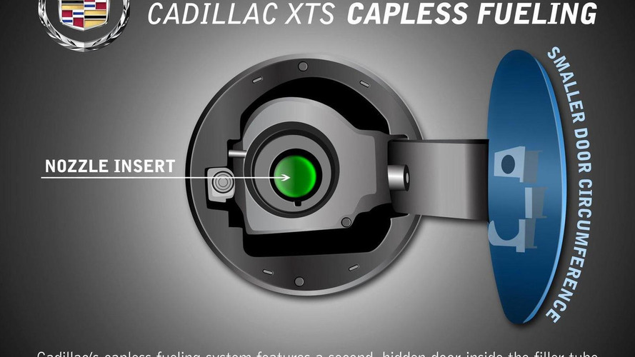 Cadillac shows XTS capless fueling system