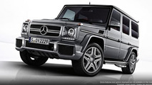 2013 Mercedes G63 AMG photos released