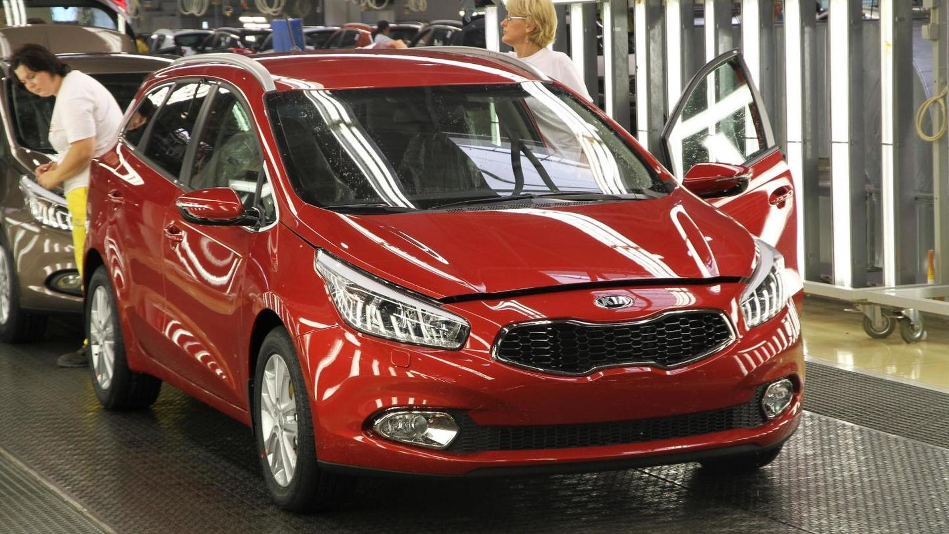 Kia starts cee'd Sportswagon production