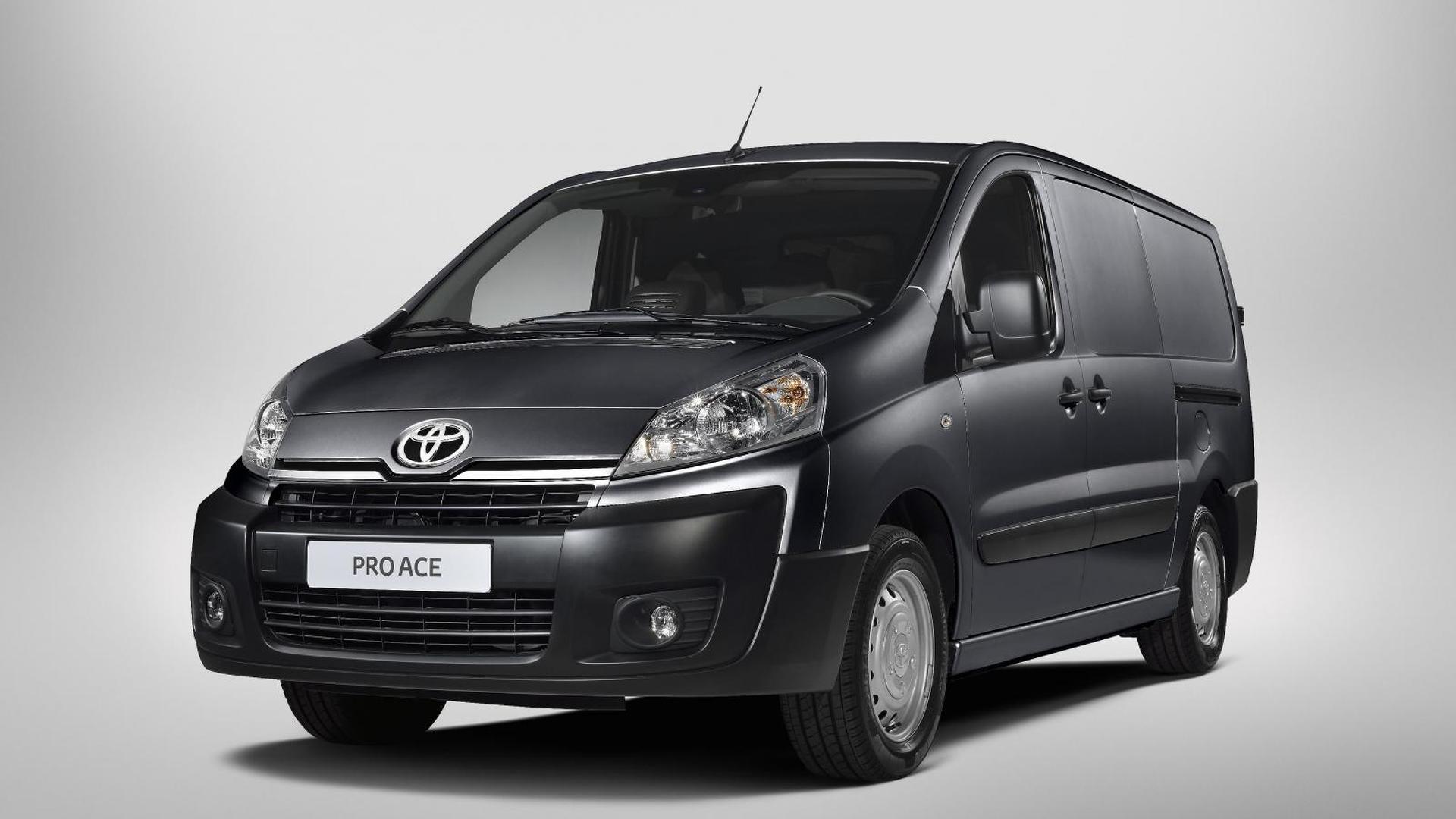 Toyota rebadges Peugeot Expert as ProAce medium-duty van for Europe