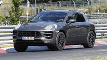 2014 Porsche Macan spied yet again with very little camo