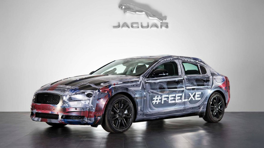 2015 Jaguar XE teased, will be introduced later this year