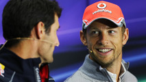 Button backs Webber over handling of Porsche news