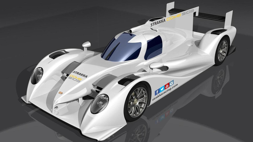 Strakka DOME S103 LMP2 prototype unveiled, will compete in the 2014 World Endurance Championship