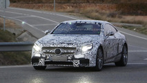 2014 Mercedes-Benz S63 AMG Coupe spy photo