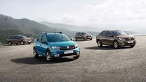Dacia shows the fresh faces of its Logan and Sandero models