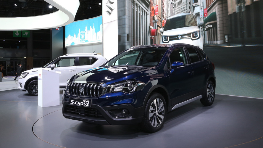 Suzuki SX4 S-Cross brings significant facelift to Paris