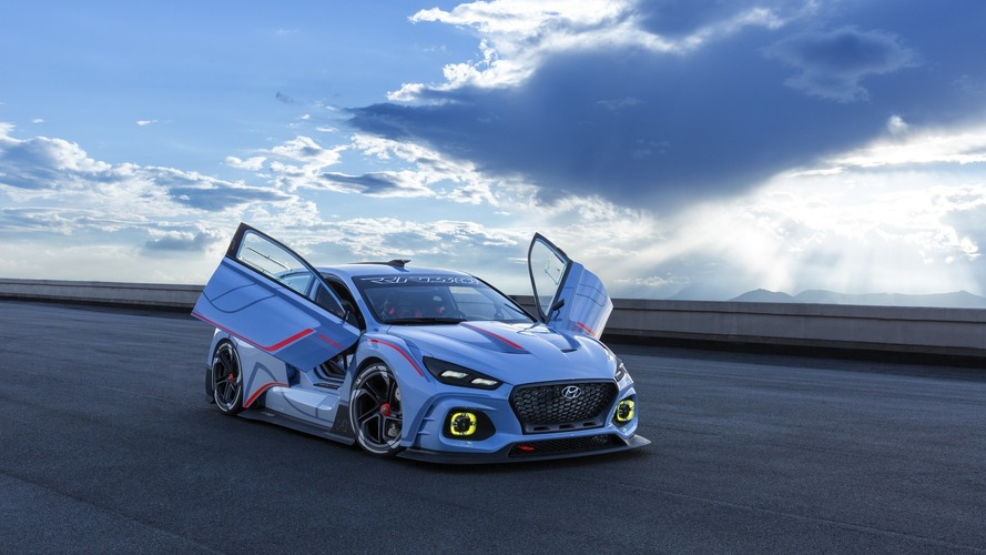Hyundai RN30 concept races into Paris with 380 horsepower