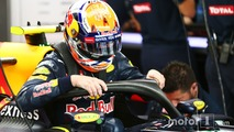 Max Verstappen, Red Bull Racing RB12 with the Halo cockpit cover