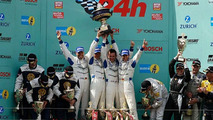 Manthey Porsche Sweeps 24 hours Nurburgring 2008
