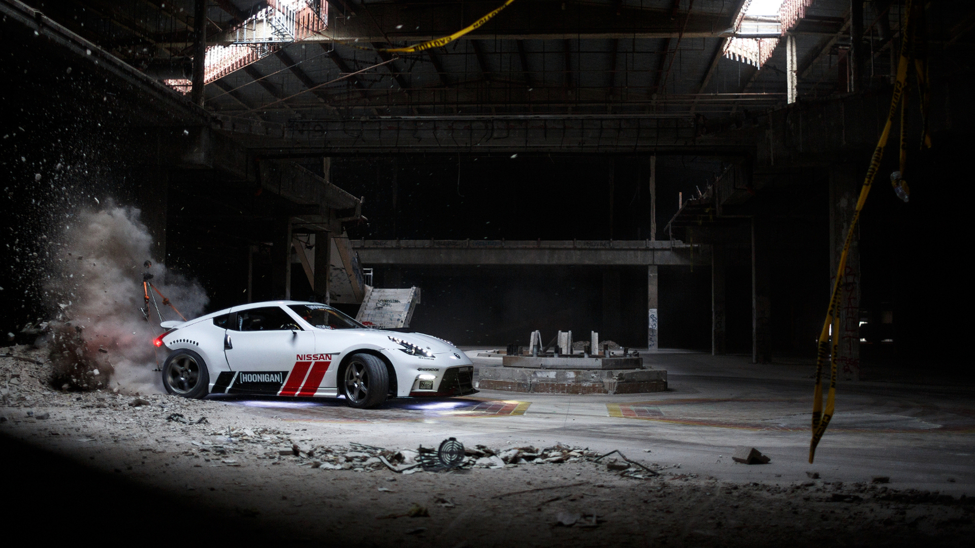 Nissan and Hoonigan celebrate Black Friday with epic mall drifting video