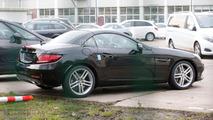 Mercedes SLC spy photo