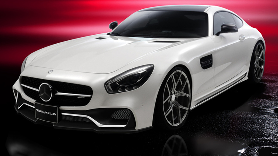 Wald International previews its styling package for the Mercedes-AMG GT