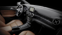 2012 Mercedes-Benz B-Class first interior photos revealed