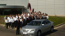 Toyota Camry Production Begins In Indiana