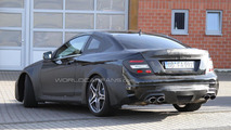 Mercedes-Benz C63 AMG Coupe Black Series first photos