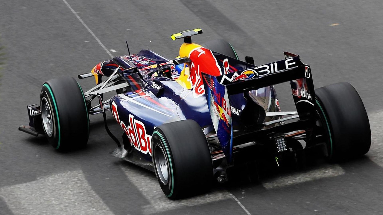 Red Bull Racing F1 car during Monaco Granbd Prix