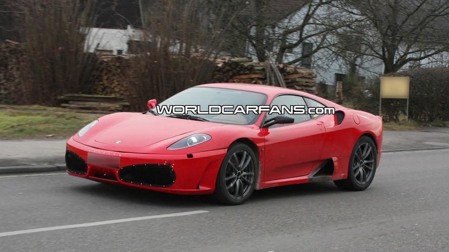 Spied Ferrari F430 Successor Sports F142 Codename
