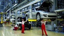 Porsche Panamera production