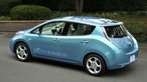 2012 Nissan Leaf upgraded for America
